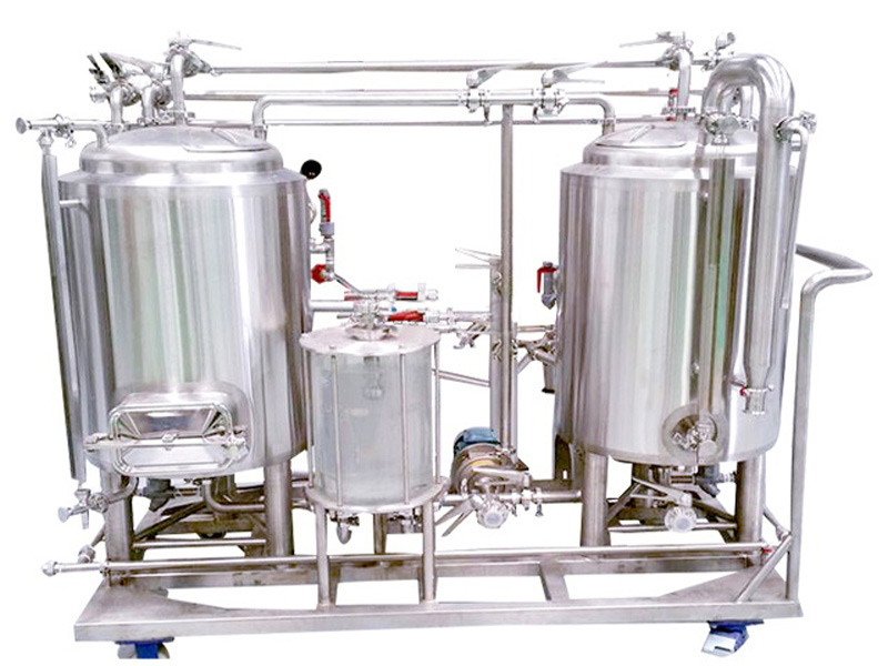 100l Electric Turnkey Beer Pilot Brewing System Jinan